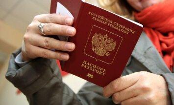 Lietuvas konsulārā dienesta rīcībā nonākusi 'Krievijas pilsētā Odesā' izdota pase