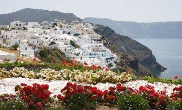 Vulkāna radīta, zemestrīces sagrauta un atkal atdzimusi – grieķu pērle Santorini