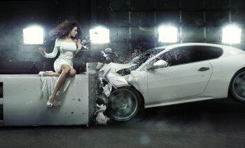 'Gjensidige' apkopojis amizantākos transporta negadījumu pieteikumus