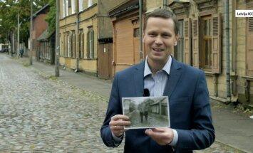 Simboliskais Āgenskalna bruģis. Ārsts Pēteris Stradiņš par savu fotogrāfiju 'Gadsimta albumā'