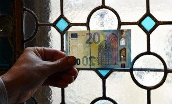 Jānis Blūms: Pavisam drīz mūsu maciņos - jaunā 20 eiro banknote