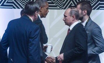 Путин и Обама пообщались на саммите АТЭС