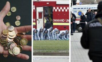 Зарплаты в Латвии, теракт в Лондоне, убийство экс-депутата Госдумы в Киеве