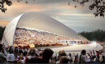Затраты на реконструкцию Большой эстрады в Межапарке могут составить 77 млн евро