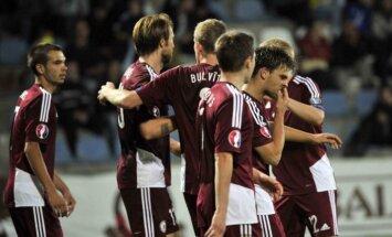 Latvijas futbola izlasei pārbaudījums pret spēcīgo Nīderlandi
