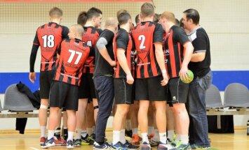 Dobeles 'Tenax' izcīna uzvaru, 'Celtnieks' zaudē Latvijas handbola virslīgas sezonas pirmajās spēlēs