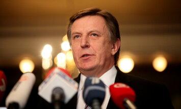 Kučinskis par nodokļu progresivitāti: 1300 eiro nav liela alga