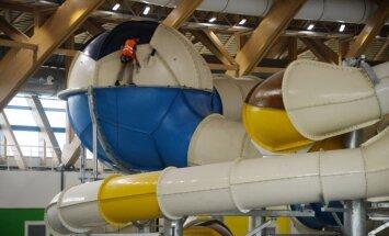 Foto: Krievijā būvē gigantisku akvaparku