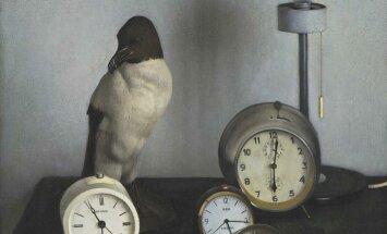 100 dārgumu mākslas muzejā: Līvijas Endzelīnas 'Pulksteņi'