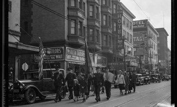 Ceļojums laikā: Lielās depresijas posts vēsturiskās fotogrāfijās
