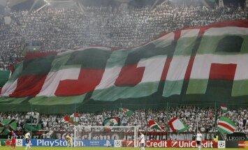Noraidīta Varšavas 'Legia' apelācija pēc izslēgšanas no UEFA Čempionu līgas