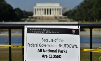 Fotoreportāža: ASV 'nedarbojas'