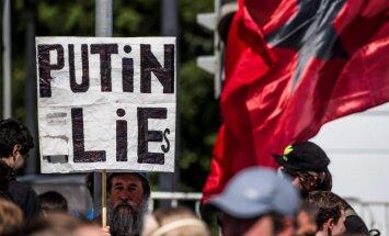 Maskavā simtiem cilvēku protestē pret cenzūru internetā