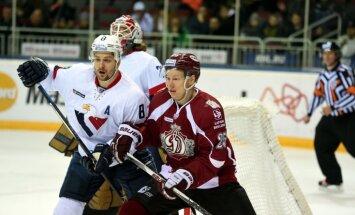 Rīgas 'Dinamo' zaudējums ļauj 'Slovan' iekļūt 'play off'