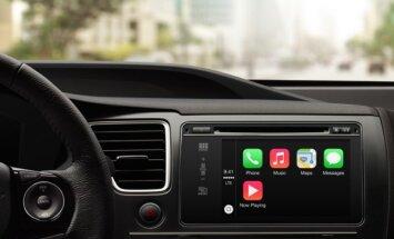 'Apple CarPlay' integrēs 'iPhone' automobiļa borta sistēmā