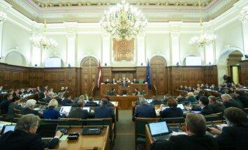 Сейм концептуально поддержал избрание президента Латвии открытым голосованием