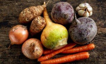 Augļi un dārzeņi ziemā – ko ēst, kad dabā vitamīnus atrast grūti