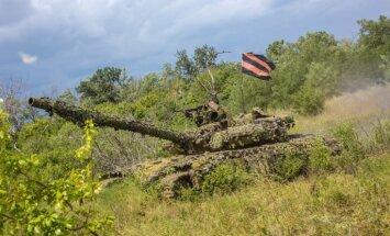 Prokremliskie kaujinieki grib nākamajās sarunās pieprasīt Donbasa neatkarību