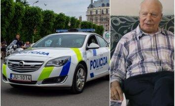 Автор нынешнего облика полицейских машин Латвии назвал новый дизайн лесбийским