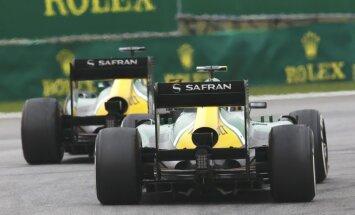 Līdzjutēji saziedo 'Caterham' startam sezonas pēdējā 'Grand Prix' posmā