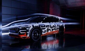 Elektriskais 'Audi e-tron' apvidnieku segmentā būs pirmrindnieks aerodinamikā