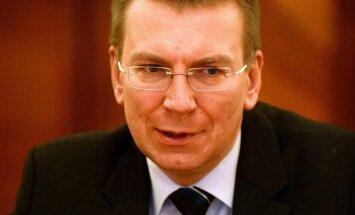 Rinkēvičs vairākiem Krievijas pilsoņiem grasās aizliegt Latvijā ierasties uz 'smalkiem pasākumiem'