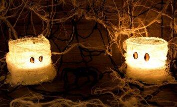 Gaidot Helovīna vakaru. Pašu rokām pagatavots zirnekļtīkls