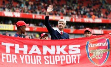 Vengers nav vēlējies atstāt 'Arsenal', viņu atlaida kluba vadība