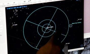 Foto: NASA publiskojusi fotoattēlus ar asteroīdu, kurš trešdien palidoja garām Zemei