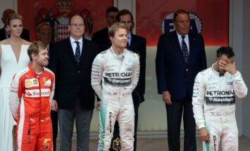 Hamiltons pēc Monako 'Grand Prix': pat nemēģināšu izteikt, kā jūtos