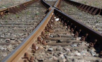 Pie sliedēm piesieta kucēna dēļ vilciens ASV veic avārijas bremzēšanu