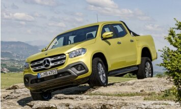 'Mercedes-Benz' prezentējis savu pirmo pikapu 'X-Class'