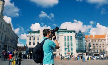 Tūristu skaits Rīgā palielinājies par 7%