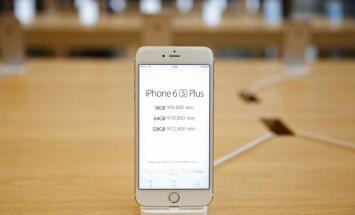 Latvijā sāk tirgot jauno 'iPhone 6S'