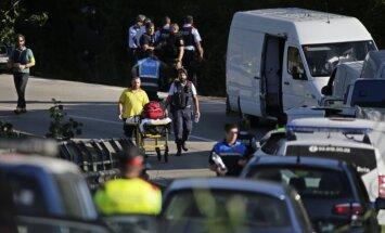 Nošauts bēguļojošais Barselonas terorists