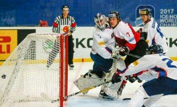 Saasinās cīņa par iekļūšanu pasaules hokeja čempionāta elitē