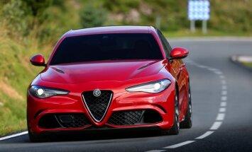 510 ZS 'Alfa Romeo' kļuvis par ātrāko sedanu Nirburgringā un maksās 79 tūkstošus