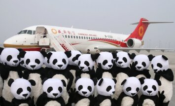 Pirmā Ķīnā būvētā reģionālā pasažieru lidmašīna veic pirmo komercreisu