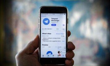 Krievijas uzņēmumi 'Telegram' bloķēšanas pūliņu dēļ var zaudēt pat miljardu dolāru