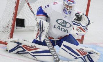 Latviešu pārstāvētā 'Lada' ar zaudējumu Hantimansijskā turpina nestabili sākto KHL sezonu