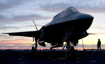 Pirmā 'F-35A' eskadriļa ir gatava kaujām, paziņo ASV Gaisa spēku komandcentrs