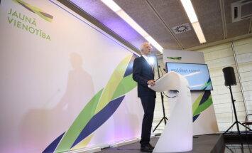 'Jaunā Vienotība' aicina turpināt eiroatlantisko kursu; deleģē biedrus politiskajām konsultācijām
