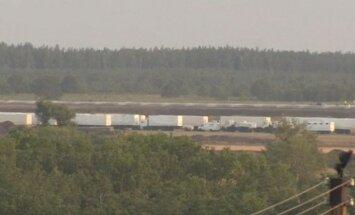 Krievijas 'humānā kolonna' pārnakšņojusi Voroņežas aviācijas karabāzē