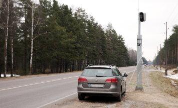 Autovadītāji bez OCTA vai TA apzināti izvairās no fotoradariem braukšanas maršrutā