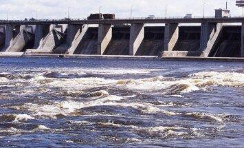 Sāks pakāpeniski atjaunot ūdens līmeni Ķeguma HES ūdenskrātuvē