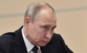 Jauni Rietumu uzbrukumi Sīrijai radīs haosu, brīdina Putins