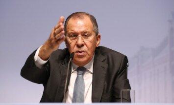 Lavrovs: Baltijas valstu paziņojumi par Krievijas militāriem draudiem ir nepamatoti