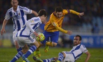 'Barcelona' futbolisti Spānijas čempionātā zaudē otrajā spēlē pēc kārtas