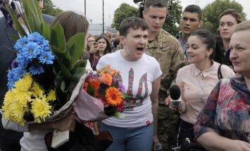 Савченко заявила об отказе от диеты