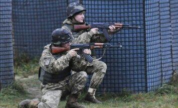 Latvijas bruņotie spēki uzsāk Ukrainas karavīru apmācību